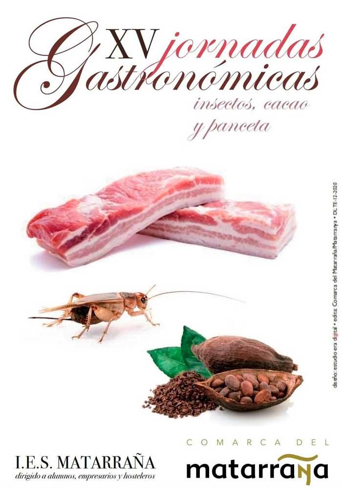 "XV Jornadas Gastronómicas del Matarraña ""Insectos, cacao y panceta"""