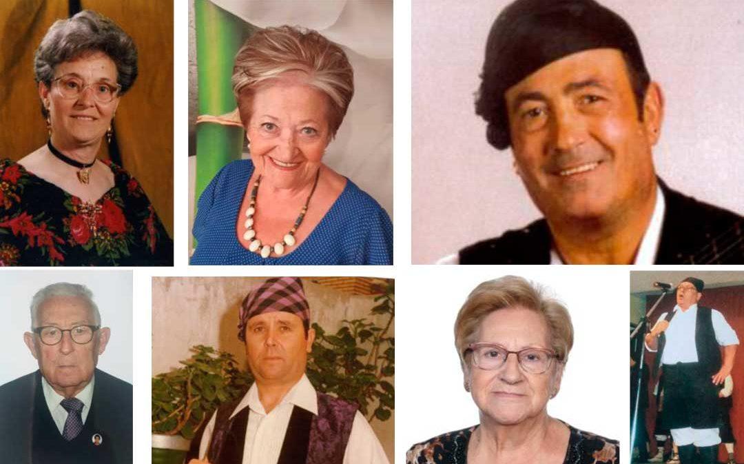 Varios bajoaragoneses se estrenan como académicos de honor de la Academia de las Artes del Folclore