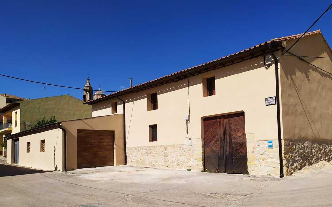 La almazara, construida en 1939, produce el aceite mediante el método tradicional / Ayto. Aguaviva