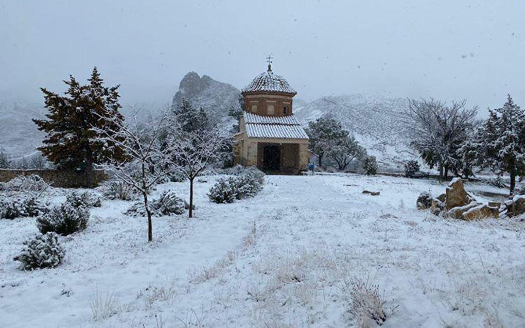 Nieve en Molinos. / Turismo de Molinos