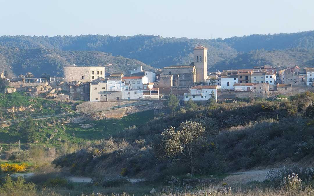 Imagen de la localidad de Nonaspe.