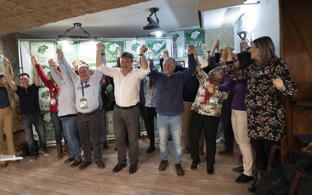 La Agrupación de electores Teruel Existe comienza a reintegrar a los donantes sus aportaciones para la campaña electoral