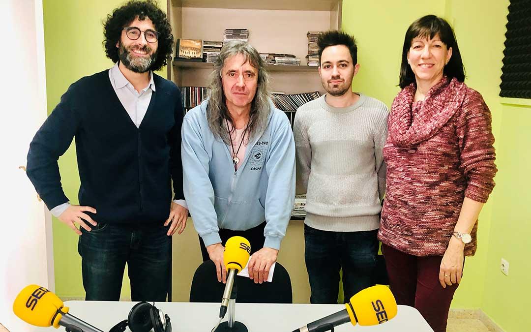 Ramón Giménez de Asesoría Giménez Cortés, Tomás Bernal de Kyoku Tao, y Mark Alcaide y Mari Ángeles Ortega de Academia Brik.
