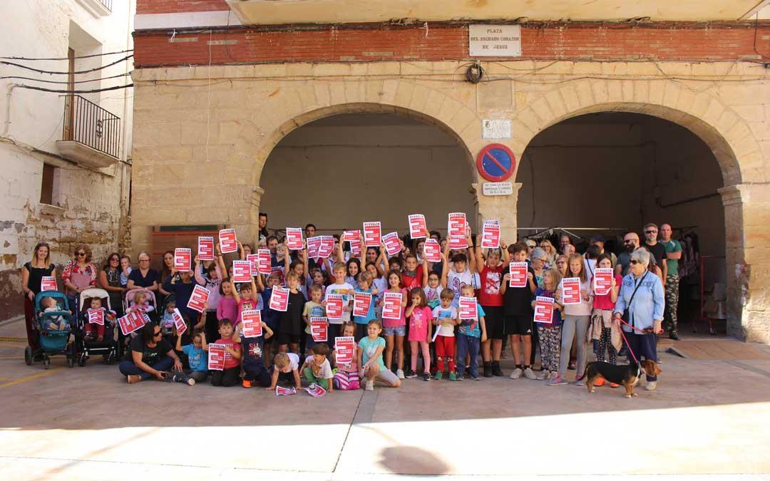 En octubre la España vaciada convocó un paro ciudadano por su futuro.
