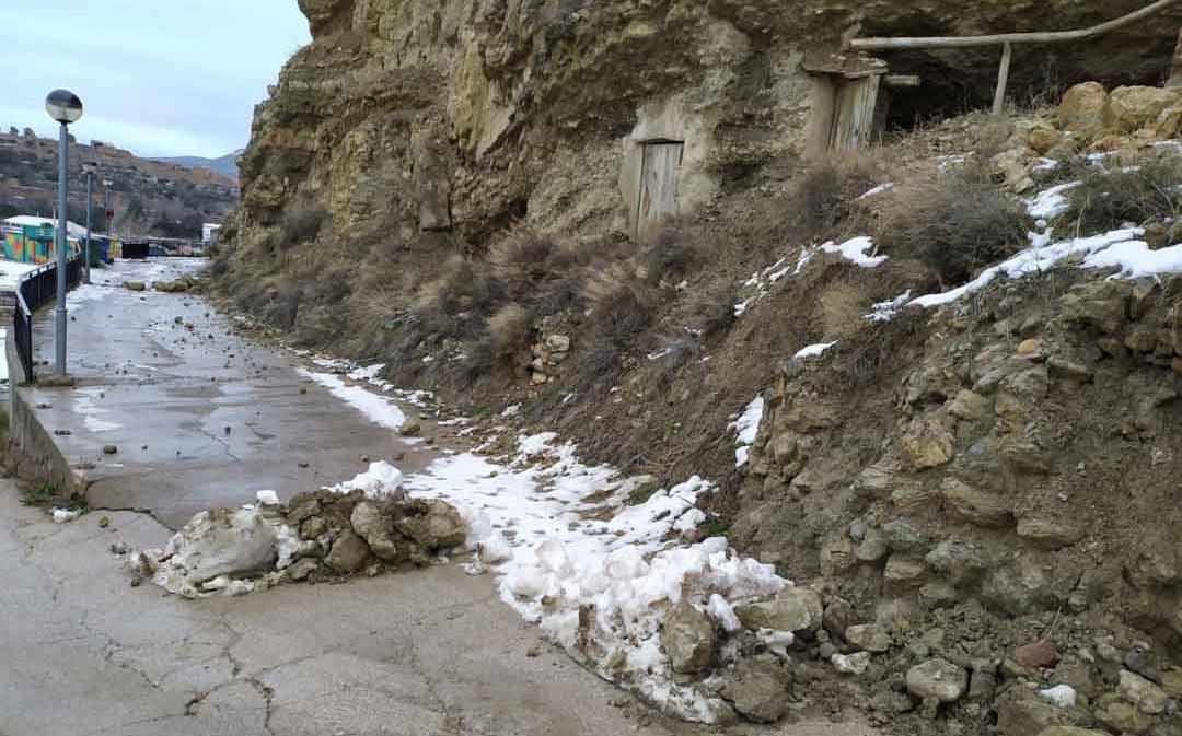 Una familia desalojada en Oliete y malestar en Cuencas Mineras