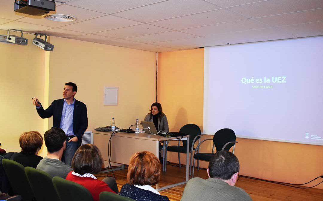 El Justicia de Aragón presidirá la inauguración de la Universidad de la Experiencia en Caspe