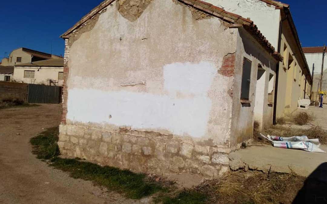 El Ayuntamiento de Calamocha ha limpiado las pintadas
