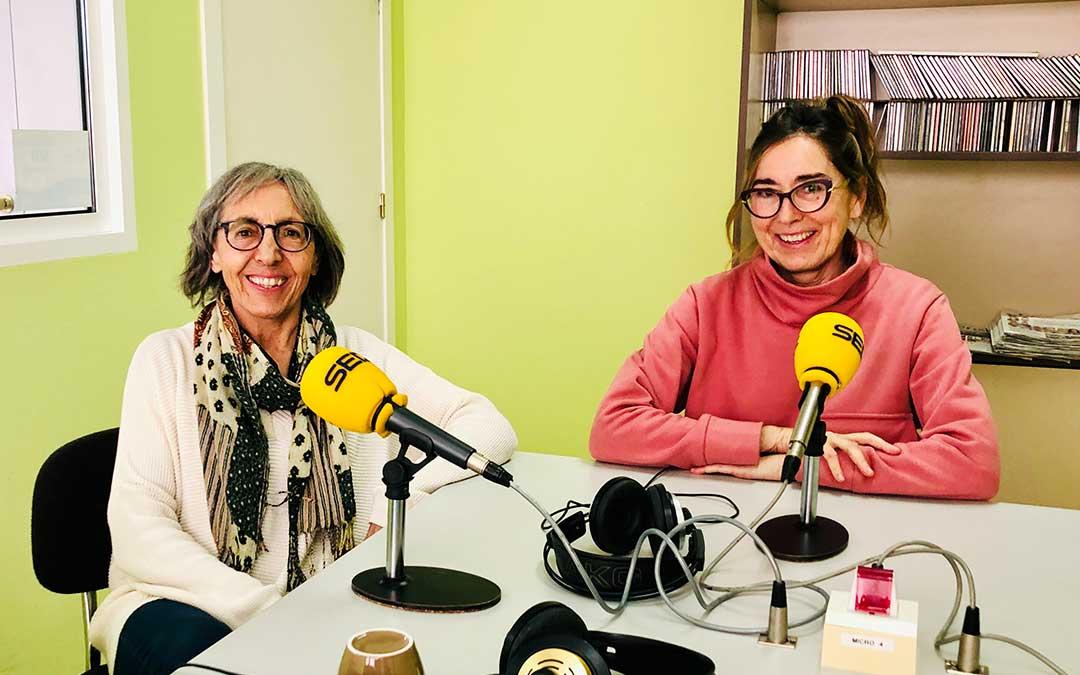 Ana Plana y Pepa Sancho, de Afedacc.