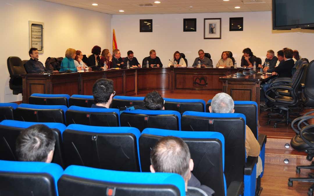 El consejo comarcal aprobó por unanimidad las enmiendas propuestas al proyecto.