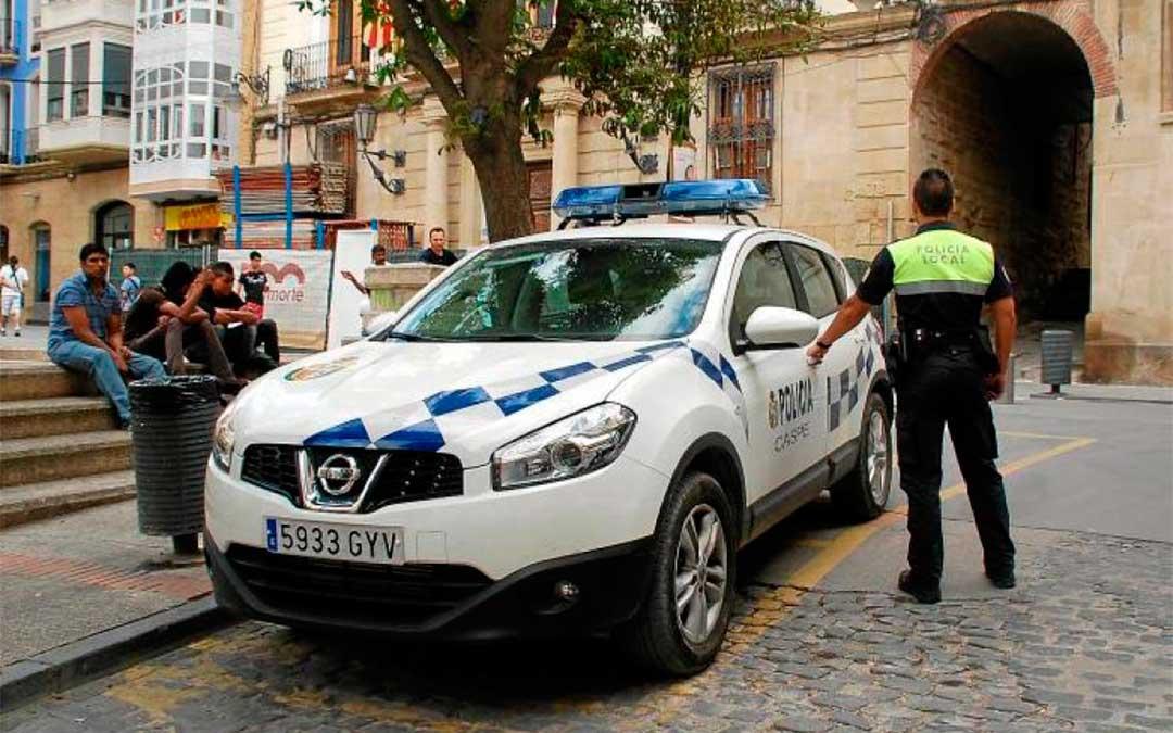 Imagen de archivo: Policía Local de Caspe.