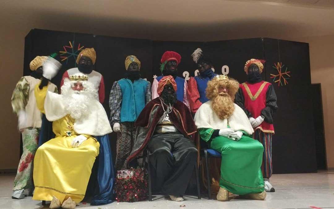 Los Reyes en La Puebla de Híjar