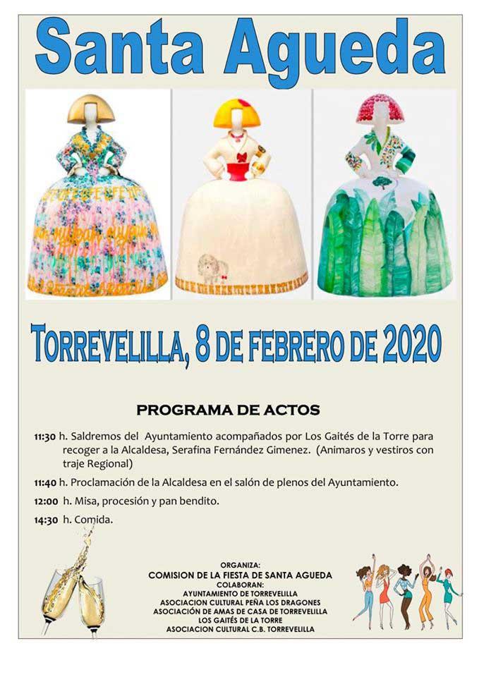 Santa Águeda en Torrevelilla