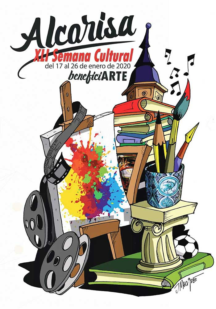 XLI Semana Cultural de Alcorisa: BeneficiARTE