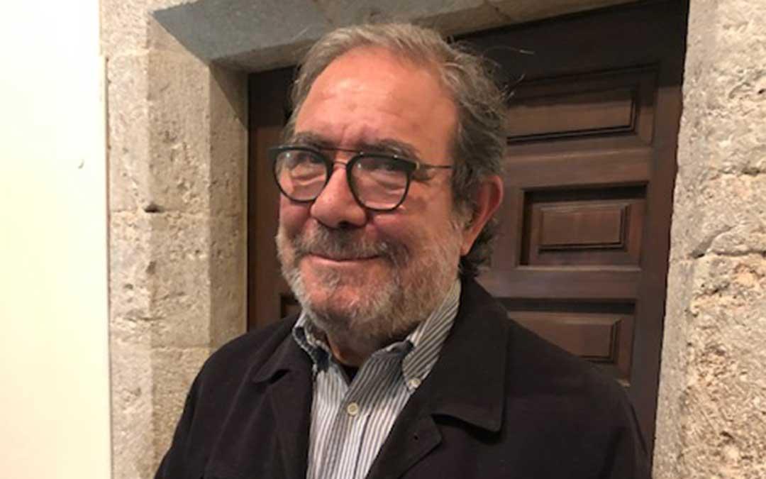 El escritor Serafín Aldecoa./ A.L.