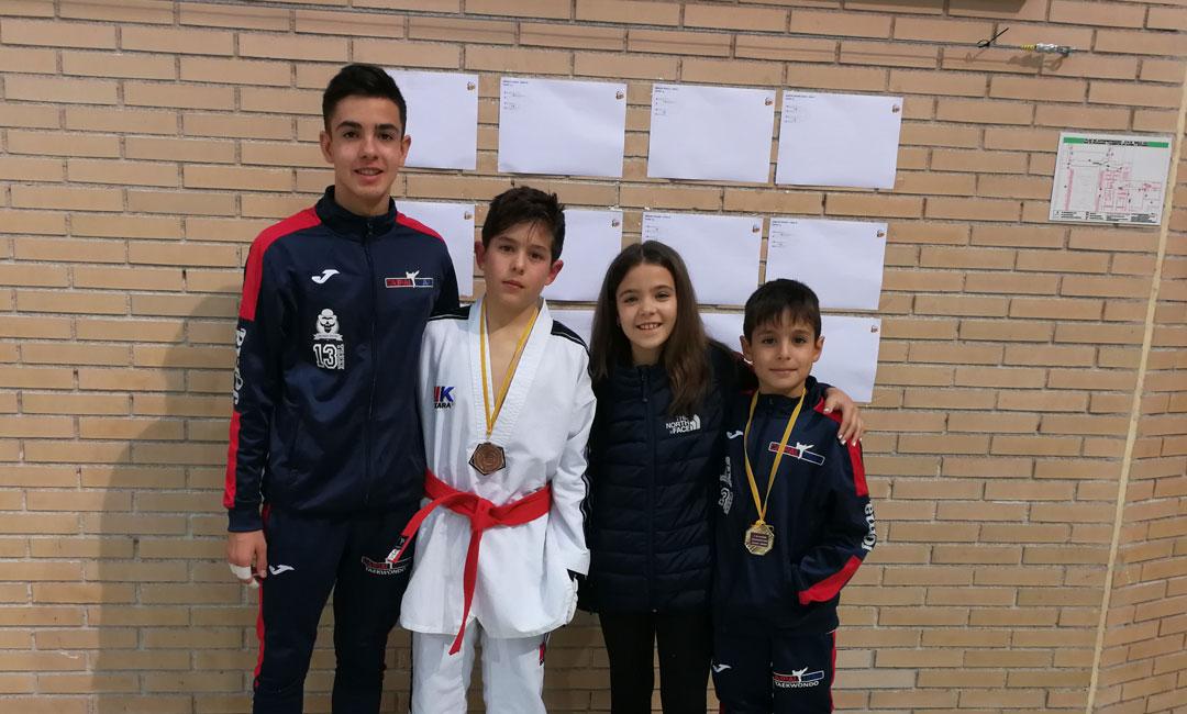 Dos medallas para el Club Cabral Team en Zaragoza