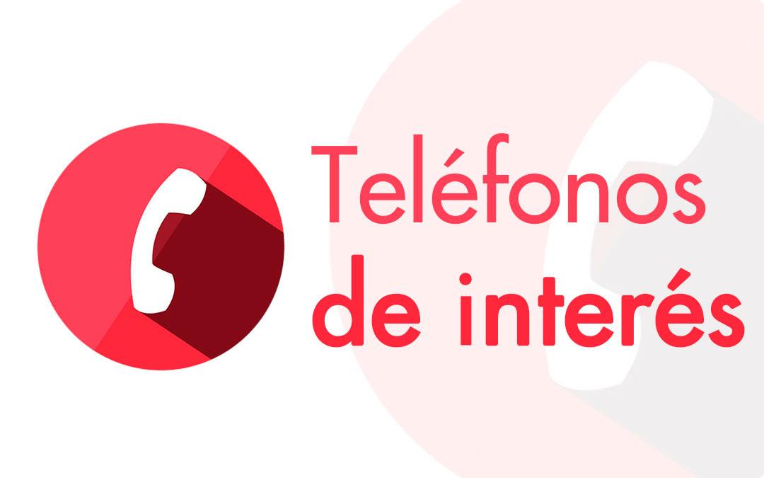 Autopromocionales TELÉFONOS DE INTERÉS