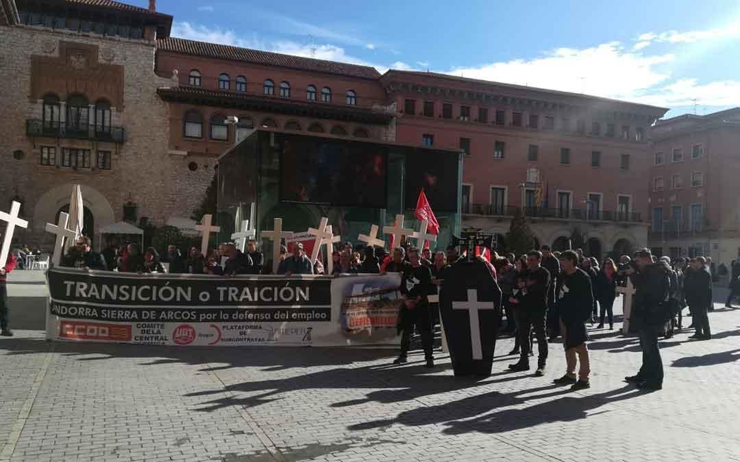 Manifestación de enero en Teruel. Mariángeles Moreno