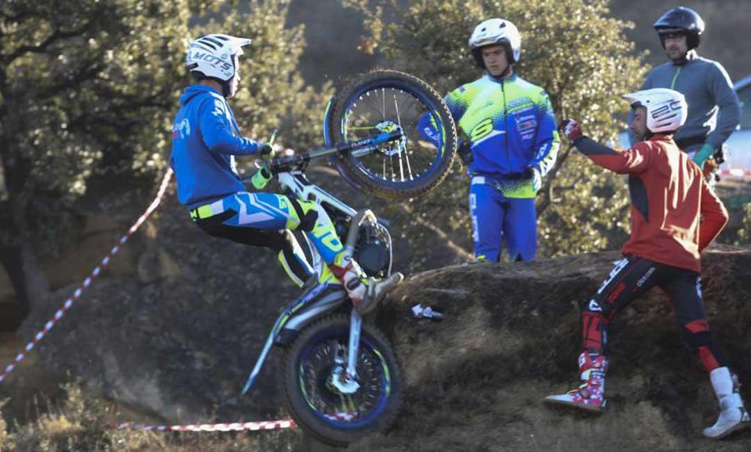 En Tierz arrancó la temporada de trial del Campeonato de Aragón