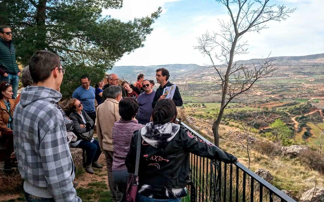 La Asociación de Empresarios Turísticos del Bajo Aragón ha estado impulsando nuevas líneas con las que atraer clientes, como el turismo geológico.