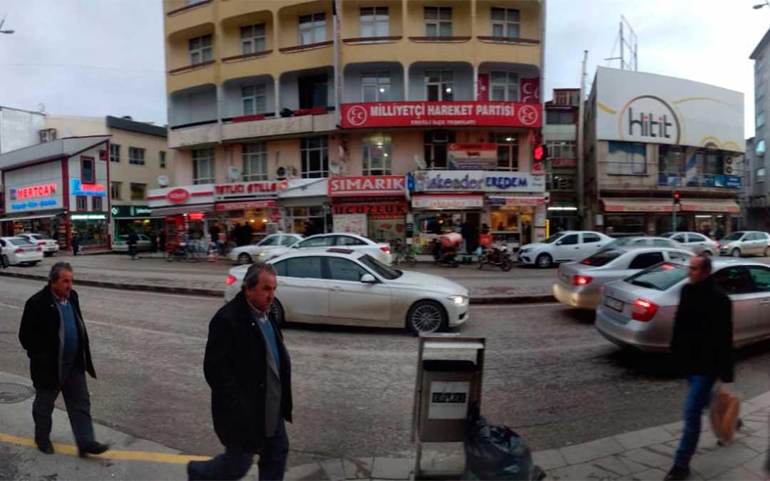 Todo el comercio y los servicios son turcos en Eregli, donde no hay apenas firmas internacionales./ La Comarca