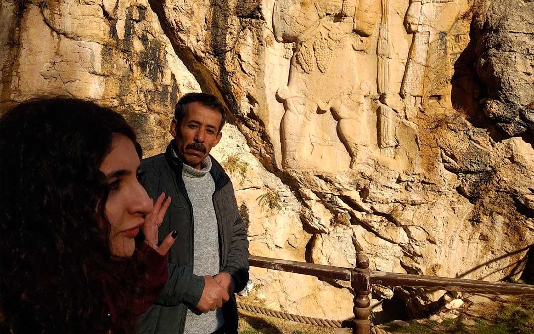 Relieve sobre roca que demuestra la presencia de los Hititas en Ivriz, donde también hay unas ruinas que se pueden visitar./ La Comarca