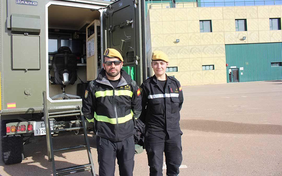 Desactivan los 91 efectivos de la UME después de realizar turnos de 12 horas