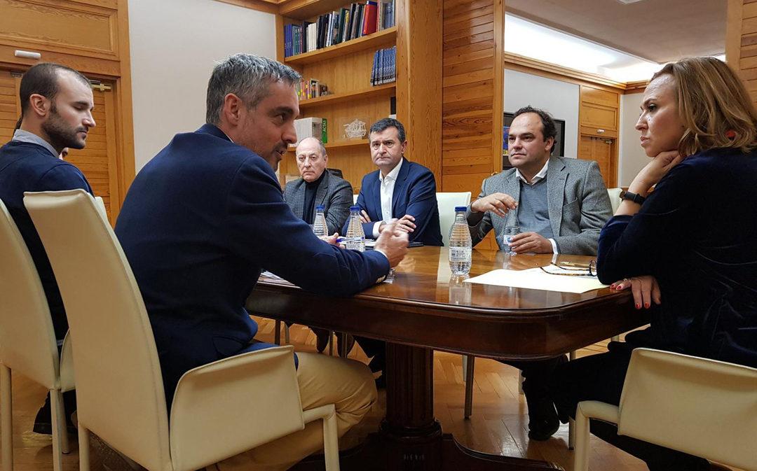 El Gobierno de Aragón se reúne con los impulsores de Repueblo para analizar resultados