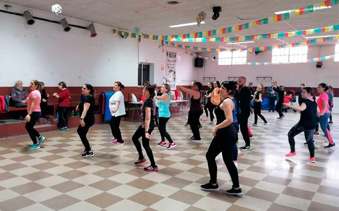 Ruta de Zumba solidaria por las localidades del Bajo Aragón-Caspe