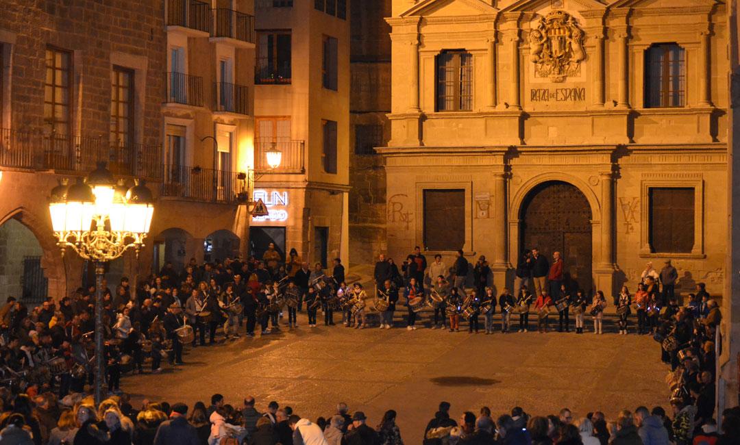 Ya es Cuaresma...¡ya suenan los tambores en Alcañiz!