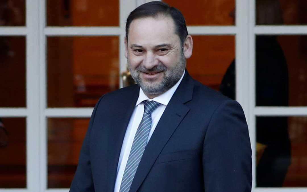 José Luis Ábalos es ministro de Transportes, Movilidad y Agenda Urbana