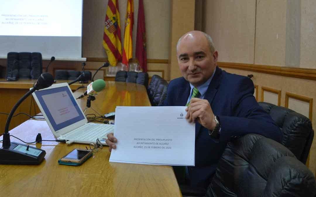 Alcañiz presenta un presupuesto de 13,5 millones de gastos y 14,1 de ingresos