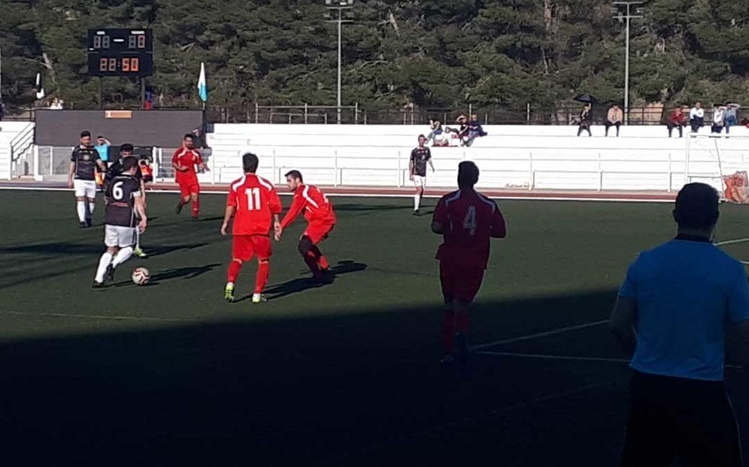 Goleada del Alcañiz frente al Cella por 4 goles a 0