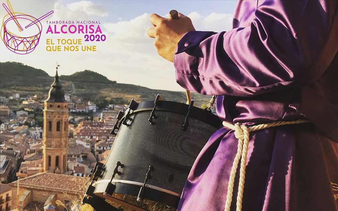 Imagen promocional de las Jornadas Nacionales de Alcorisa 2020./ Facebook Jornadas Nacionales de Exaltación del Tambor y el Bombo de Alcorisa