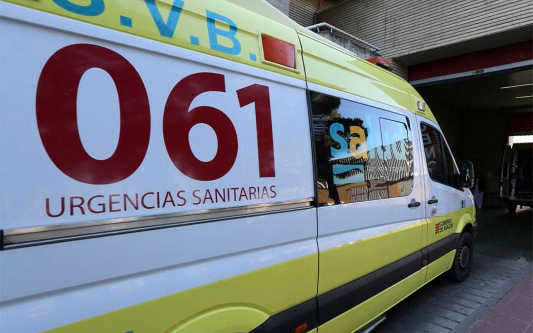 El Hospital de Alcañiz realiza nueve traslados a UCIs covid por falta de una unidad de cuidados intensivos