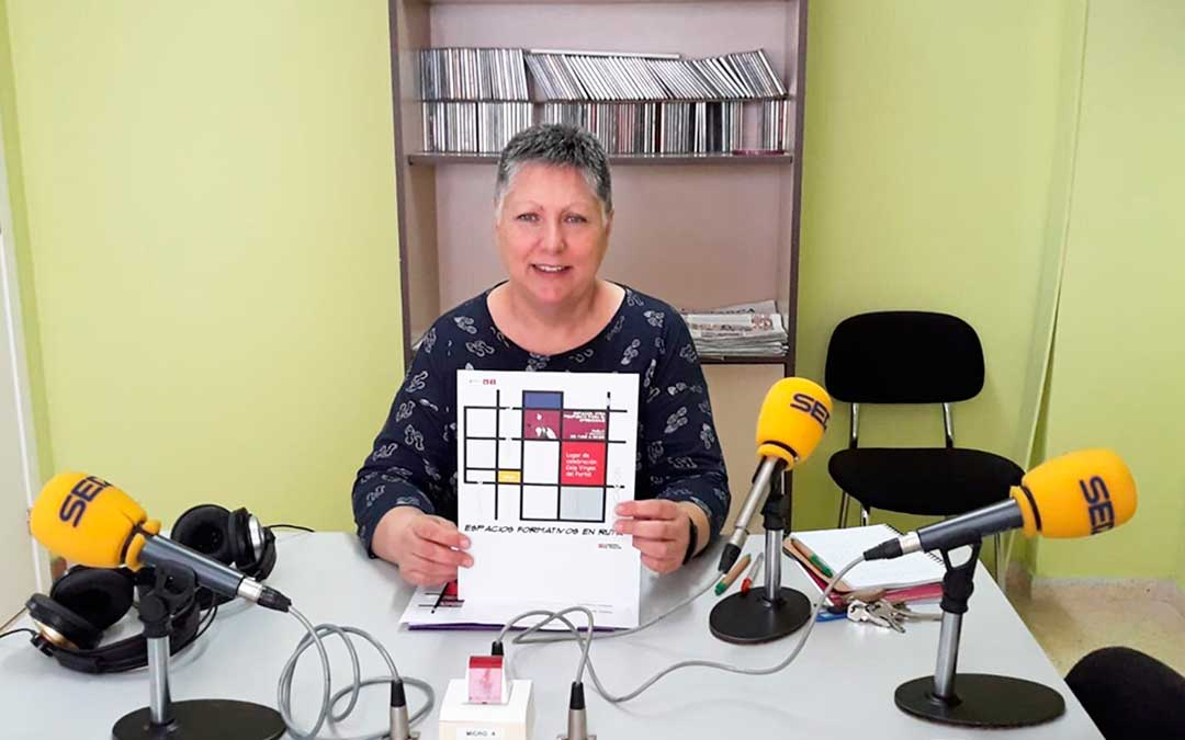 Ana Bayo es coordinadora del equipo territorial de formación del profesorado María de Ávila de Caspe.