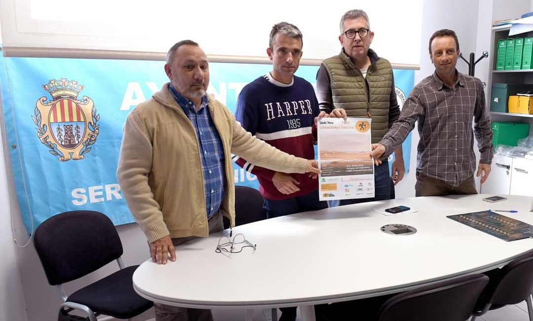 La presentación de la andada ha tenido lugar en las oficinas del SMD Alcañiz