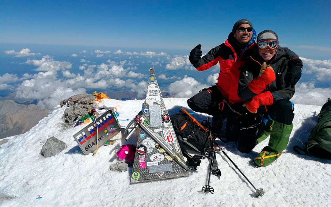 Ascenso a la cima del Monte Elbrus en Agosto del 2019./ Paco Ponz