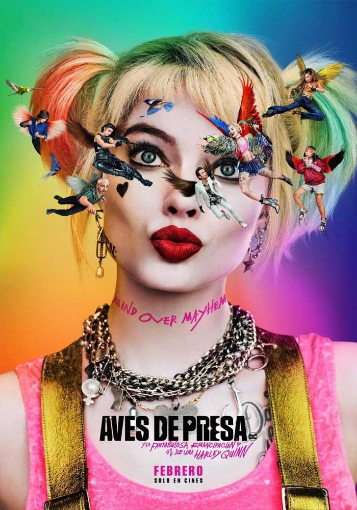 Cartelera en Alcañiz: Aves de presa y la fantabulosa emancipación de Harley Quinn
