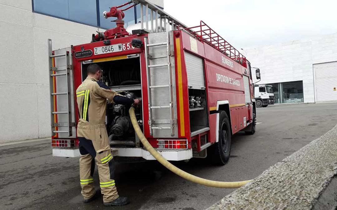 Los bomberos de la DPZ realizaron más de 2.500 intervenciones en 2019