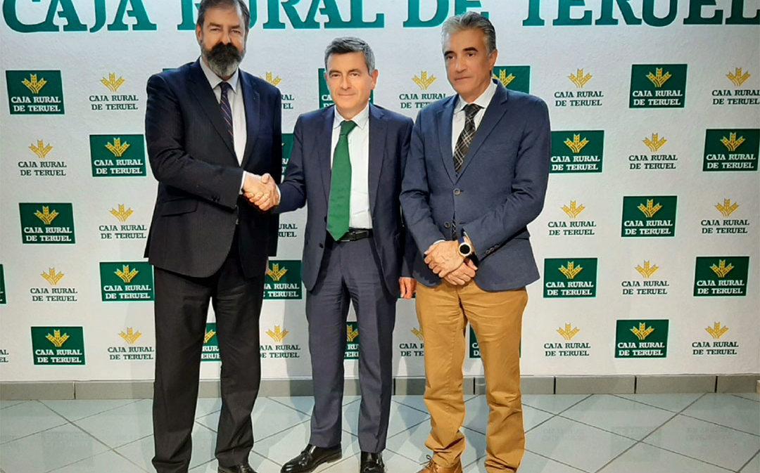 Caja Rural de Teruel y el Colegio de Abogados renuevan su convenio de colaboración