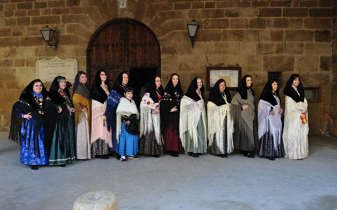 La nueva comisión de Santa Águeda de Calaceite.