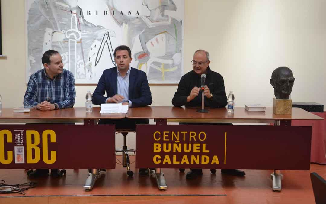 Gutiérrez, Herrero y Xifra este sábado durante la presentación