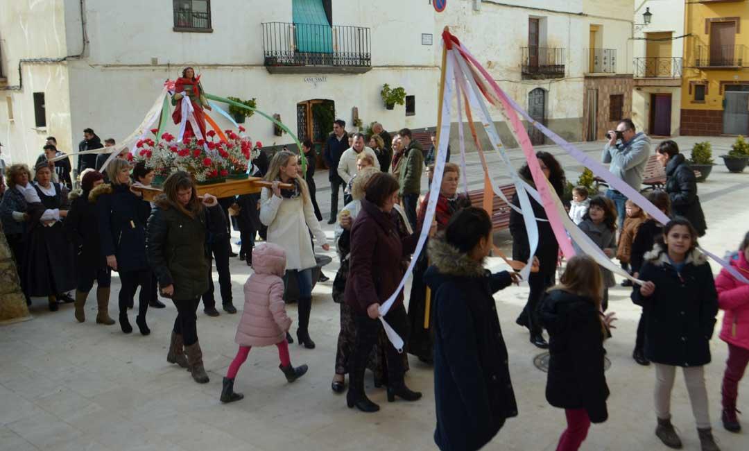 La Cañada de Verich celebra este fin de semana la festividad de Santa Águeda