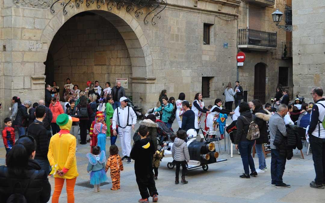 Este año la plaza de España ha sido el epicentro de la cita.