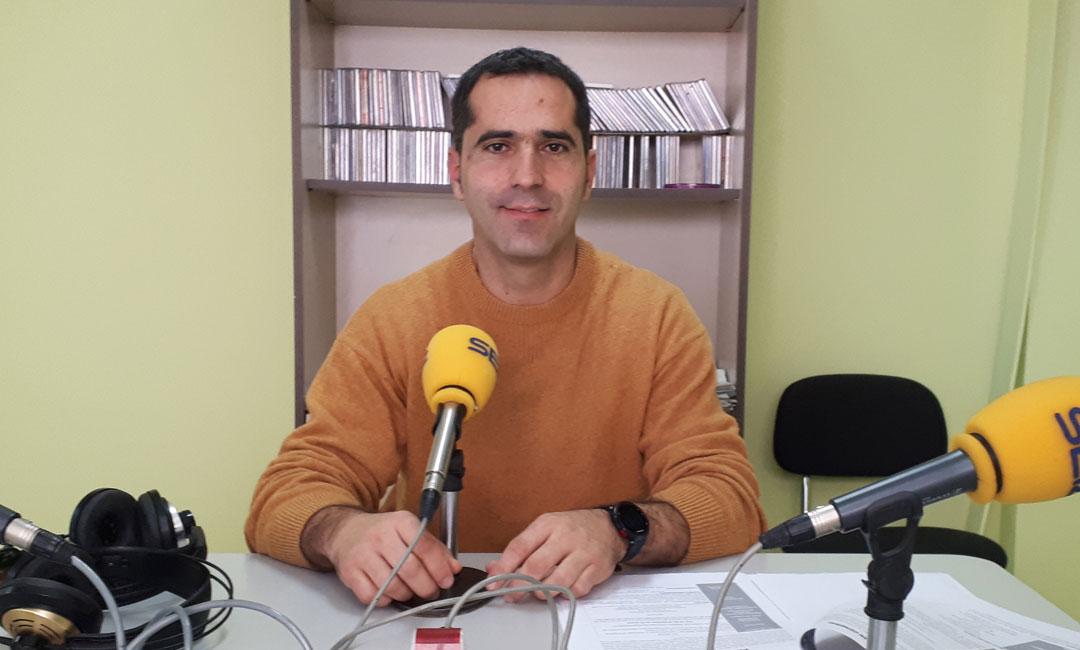 El concejal de educación del Ayto. de Caspe, Gabriel Luena