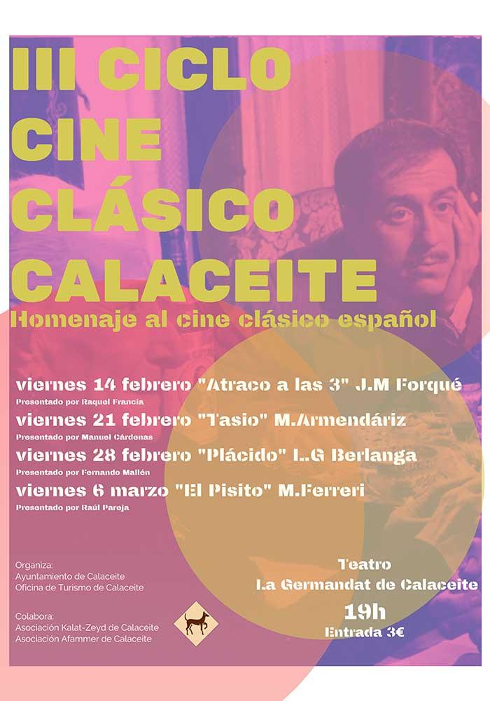 III Ciclo de cine clásico en Calaceite