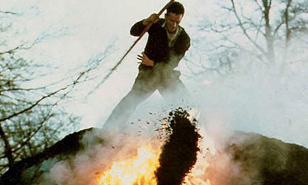 Un fotograma de la película Tasio de Moncho Armendáriz