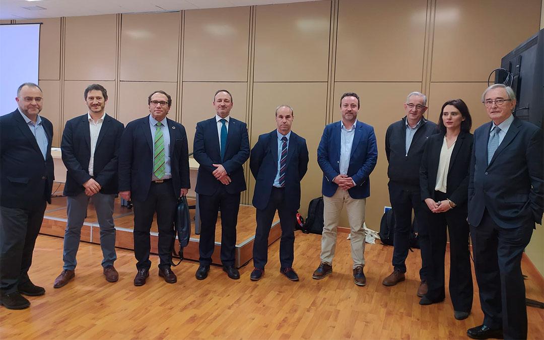 Jornada técnica organizada por el Cluster de Maquinaría Agrícola de Aragón en el marco de la FIMA./ CMAA