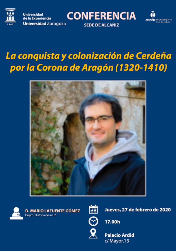 """Conferencia """"La conquista y colonización de Cerdeña por la Corona de Aragón"""" en Alcañiz"""