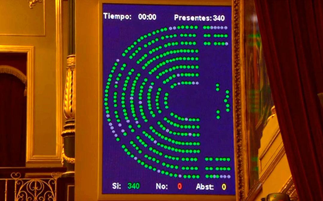 Teruel Existe logra incluir sus propuestas para el sector frutícola en el Congreso